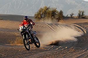 Dakar Stage report Israel Esquerre prepares for Dakar attack