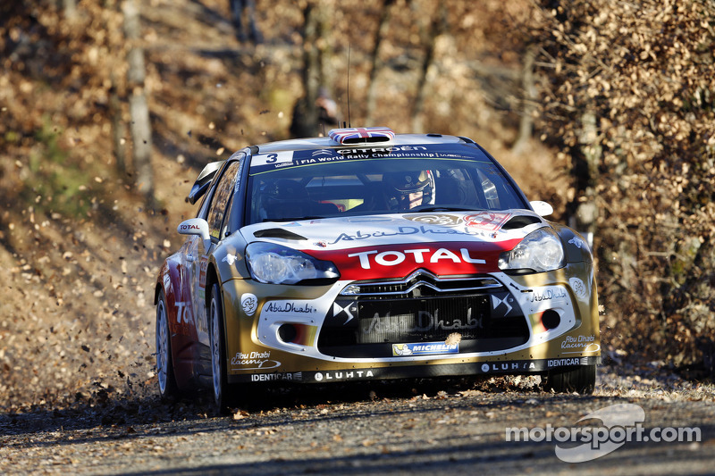 Kris Meeke emerges in second position on Rallye Monte-Carlo