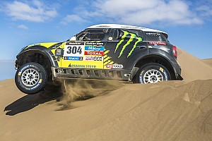 Dakar Race report The MINI ALL4 Racing dominates the 2014 Dakar Rally