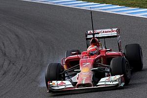 Formula 1 Testing report Raikkonen's back 'ok' after F1 driving return