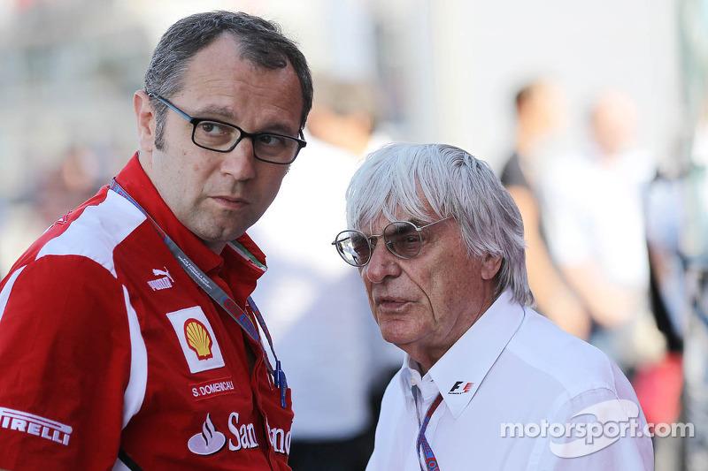 Ecclestone devised 'double points' to help Ferrari