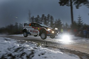WRC Stage report Steep learning curve as Kubica battles on in Sweden