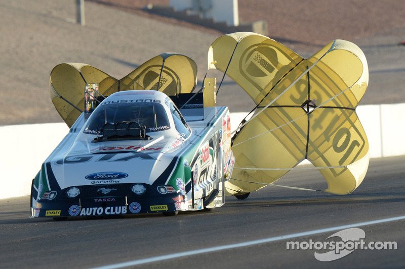 Force, Brown and Johnson are qualifying leaders at season-opening Circle K NHRA Winternationals
