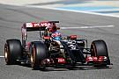 Bahrain Test: Grosjean and Maldonado talk about the Lotus E22