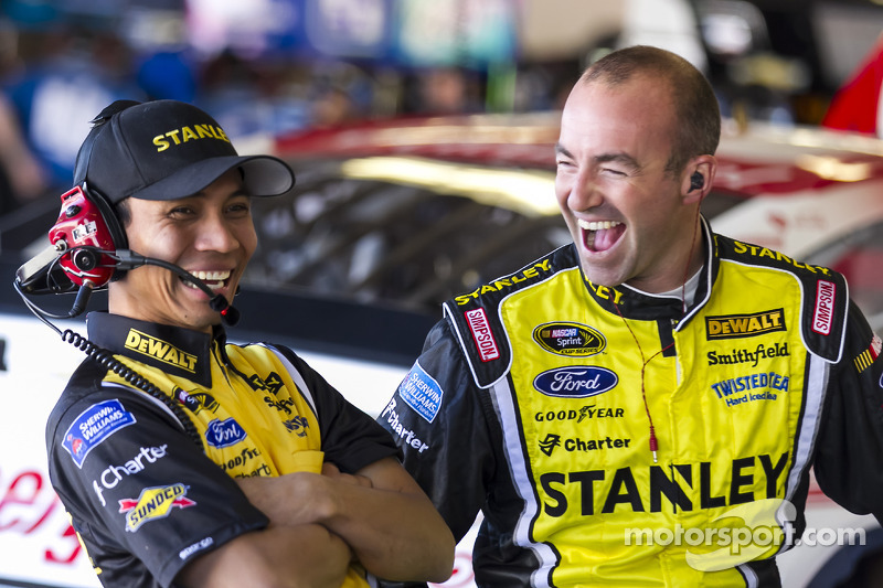 Ambrose Proud to Carry The International Flag for NASCAR