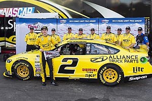 NASCAR Cup Qualifying report Brad Keselowski leads Team Penske sweep of front row at Phoenix