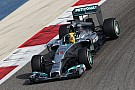 Mercedes' Hamilton concludes final pre-season test in Bahrain on top of the time sheets