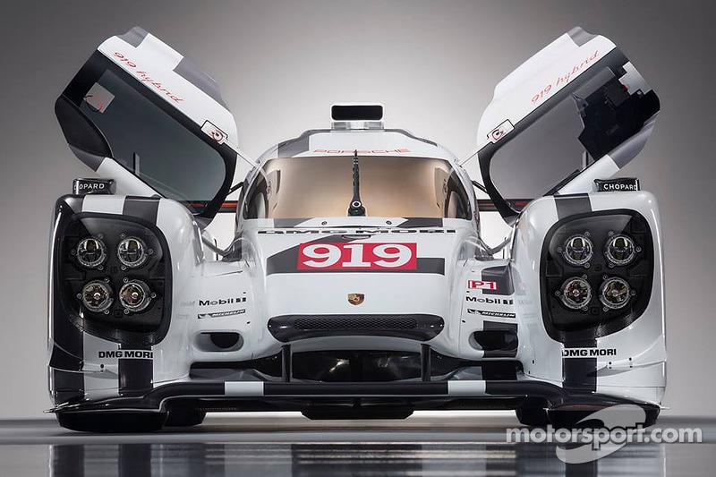 Porsche unveils 919 Hybrid in Geneva