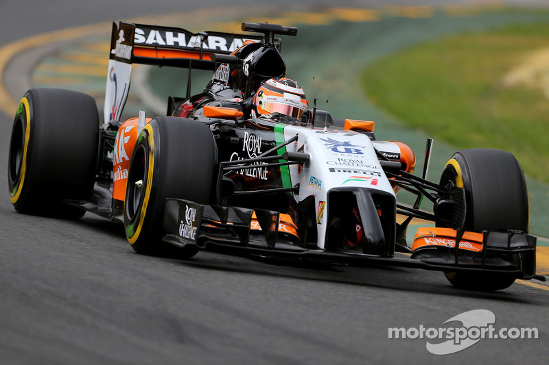 7th and 16th for Force India after qualifying in Melbourne