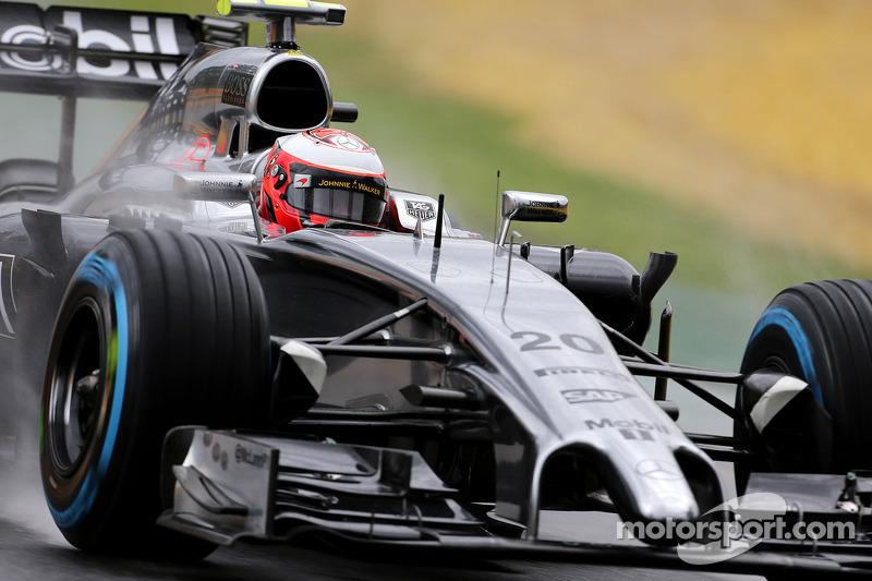 Good beginning of a season for McLaren rookie Magnussen at Melbourne