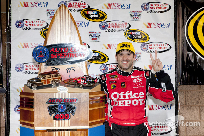 Tony Stewart looking for another top five at Auto Club
