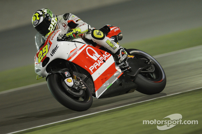 Up and down qualifying for Iannone in Qatar