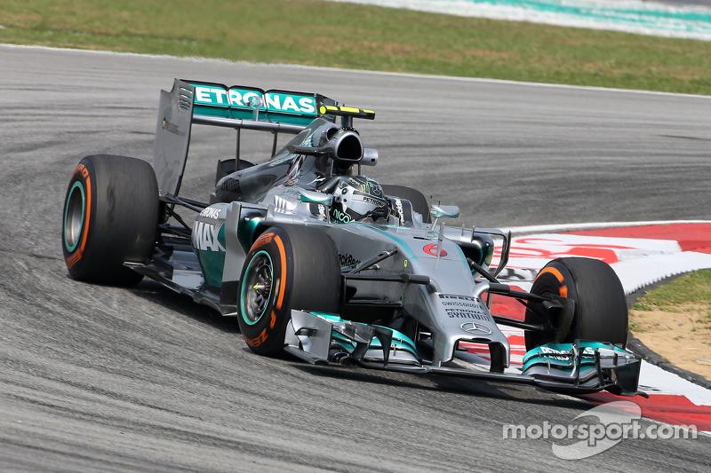 Rosberg, Mercedes quick in blazing Friday practice