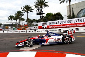 IndyCar Practice report Sato on top in St. Pete