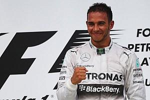 Formula 1 Race report Hamilton leads Mercedes 1-2 in Malaysia