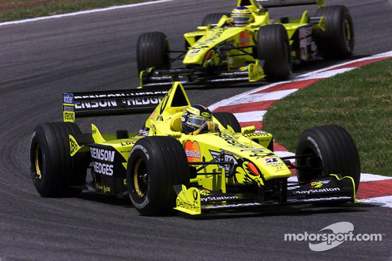 Frentzen has fix for 'processional' F1