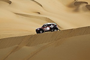 Other rally Leg report Vasilyev moves within sight of victory in Abu Dhabi Challenge.