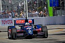 Servia and Rahal ended the practice day in Long Beach 18th and 21st fastest respectively