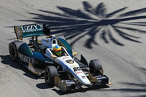 IndyCar Qualifying report Conway places 17th in Long Beach qualifying Saturday