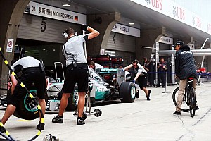 Formula 1 Practice report Fruitfull practice session for Mercedes at China