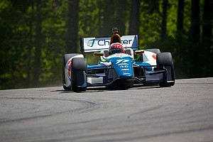 IndyCar Qualifying report Schmidt Peterson Motorsports teammates start 10th, 11th at Alabama