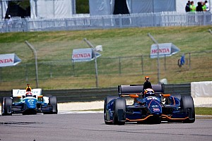 IndyCar Race report Twelfth place finish for Hawksworth in Barber