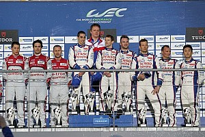 WEC Race report No. 8 Toyota wins for the second time in 2014