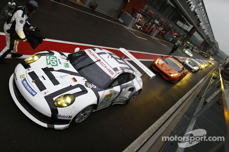 Porsche clinches second in GTE-Pro after remarkable charge at Spa