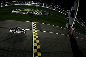 NASCAR Truck Race report A 'rowdy' night under the Kansas lights