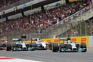 Mercedes' Hamilton achieved his fourth victory of the season in Spain