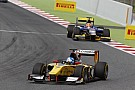 Jolyon Palmer and DAMS while mastering