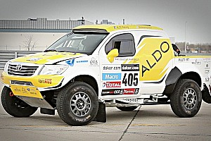 Other rally Stage report Spectacular debut for the ALDO Racing Toyota Tacoma