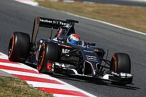 Formula 1 Testing report Sauber F1 Team: Barcelona test Day 1