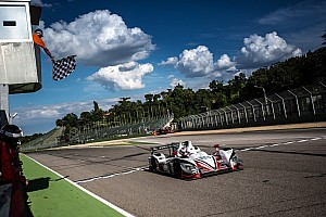 "European Le Mans Race report JOTA sport records first ELMS win of 2014 with ""Italian job"""