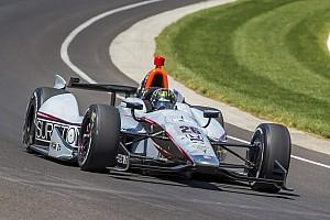 IndyCar Breaking news Kurt Busch crashes at Indy