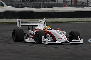 Indy Lights Qualifying report Razia to lead field to green flag in Freedom 100 at Indianapolis