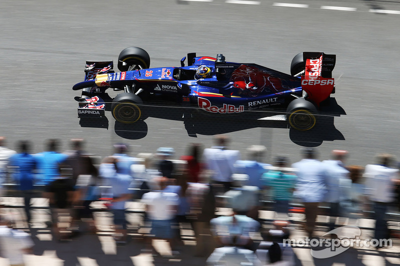 In an awesome qualifying session, Toro Rosso is top ten in Monaco
