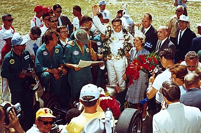 Nearly a half-century later, Wood Brothers fondly remember Jim Clark's dominant Indy 500 win