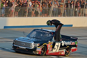 NASCAR Truck Race report Kyle Busch wins in dominating fashion at Dover