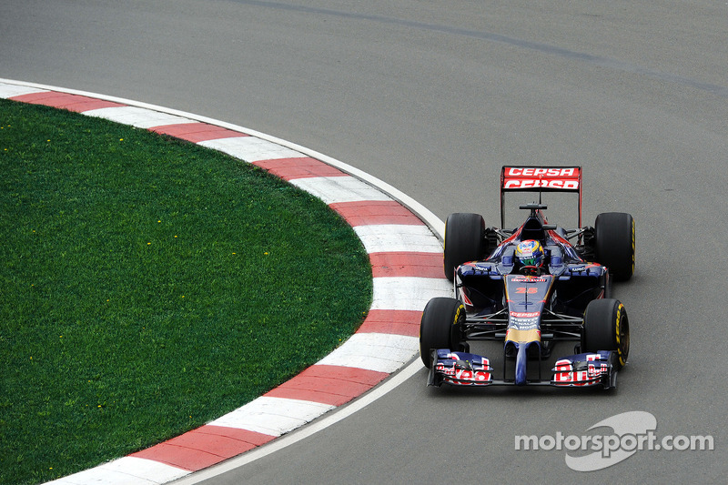 A mixed free practice day for Toro Rosso in Canada