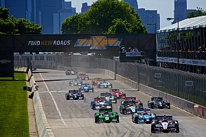 IndyCar Breaking news IndyCar: So long, double-file restarts