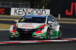 WTCC Race report Honda Civics take podium place in both races at Moscow