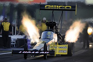 NHRA Preview Top Fuel rookie Richie Crampton ready to keep winning ways going at Bristol Dragway