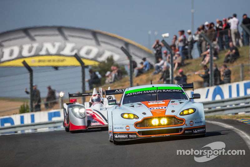 Aston Martin leads GTE Am at four-hour mark