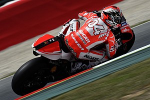MotoGP Race report Dovizioso finishes eighth in Catalunya GP, Crutchlow forced to retire