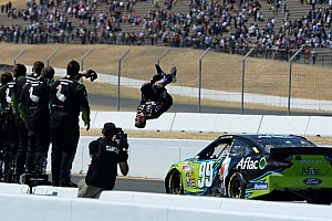 NASCAR Cup Race report Carl Edwards holds off a Chevy charge at Sonoma