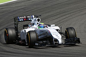 Formula 1 Practice report Williams optimise the car as much as possible on practice day for the German GP