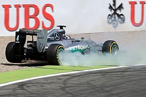 Formula 1 Breaking news Hamilton suffers heavy crash during German GP qualifying
