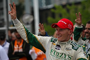 IndyCar Race report Strategy call helps Mike Conway secure his second win of the season