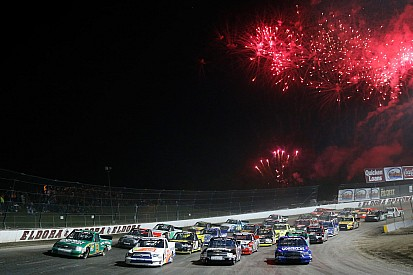 How did Tony Stewart and crew make Eldora's surface so racy?